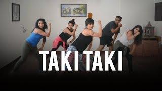 Dance Fitness Choreography | Taki Taki |  Vijaya Tupurani |Dj Snake | Cardi B