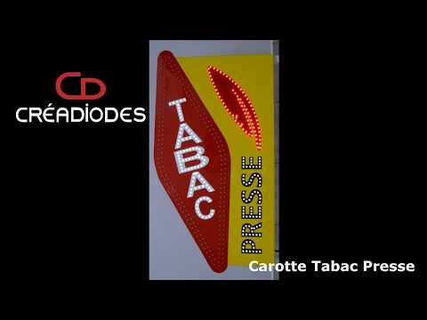 Carotte Tabac Presse à leds