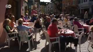 Австрия боится потерять деньги российских туристов(Обеспеченные россияне любят отдыхать в Австрии, особенно на курорте Кицбюэль. Сотрудники туристической..., 2014-04-20T09:02:26.000Z)