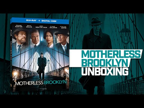 Motherless Brooklyn: Unboxing (Blu-ray)