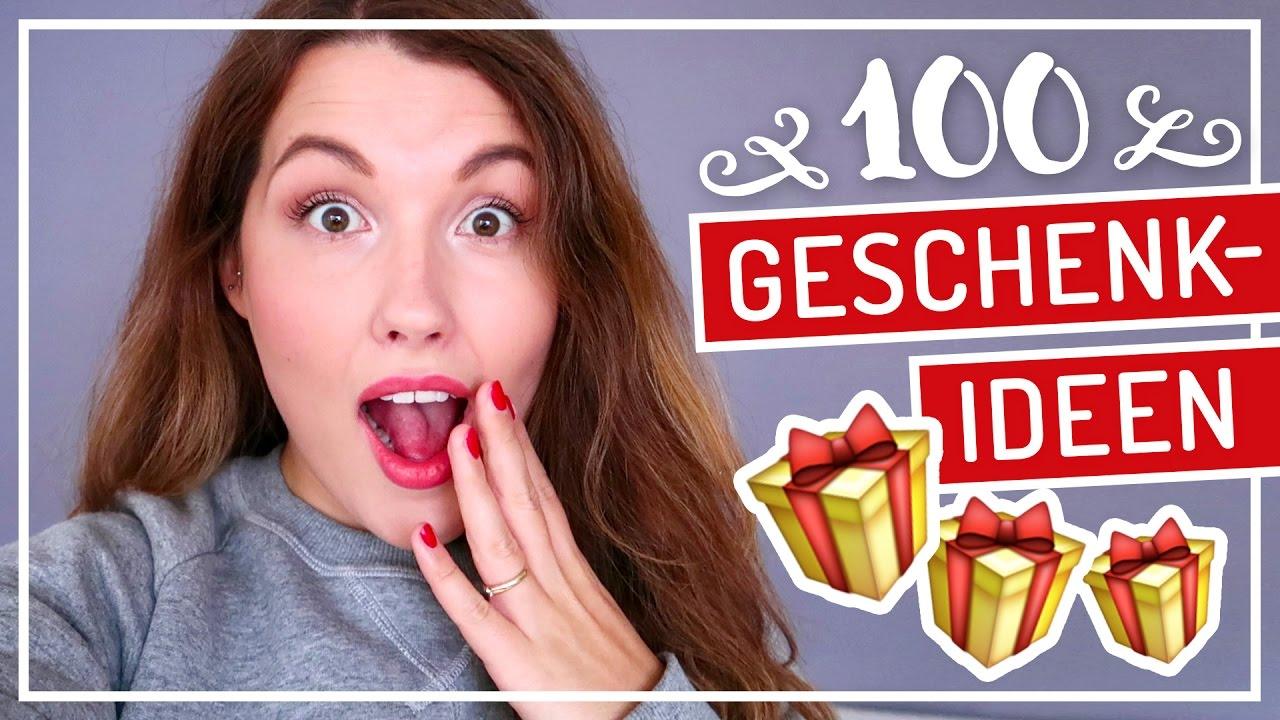 100 GESCHENKIDEEN für den Adventskalender #TypischSissi - YouTube