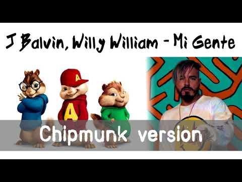 J Balvin, Willy William - Mi Gente (Chipmunk Version)