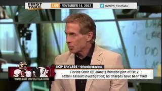 ESPN First Take  Jameis Winston Part of 2012 Sexual Assault Investigation