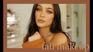 WARM CARAMEL FALL MAKEUP TUTORIAL  🍂