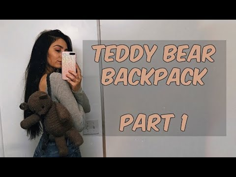 TEDDY BEAR BACKPACK TUTORIAL PART 1