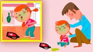 НОВАЯ Азбука безопасности Правила безопасности для детей Первая помощь Развивающее видео для малышей