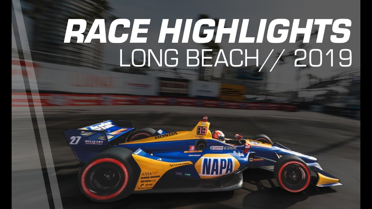 Rossi scores crushing IndyCar victory at Long Beach | RaceFans