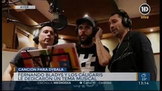 A Rusia con amor: Córdoba le canta a Paulo Dybala