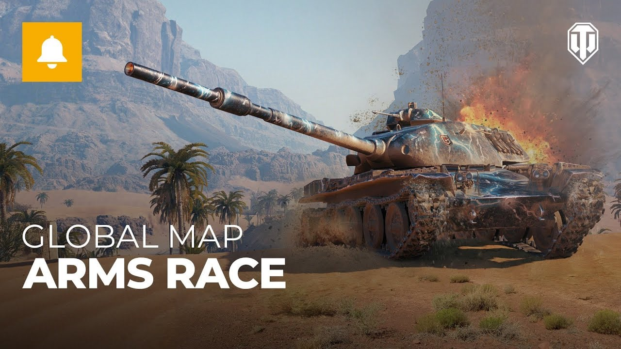 Global Map Spring Event: Arms Race - YouTube