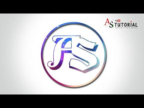 Logo Design Photoshop CS6 Tutorial | Tutorial 2019 | AS Tutorial thumbnail