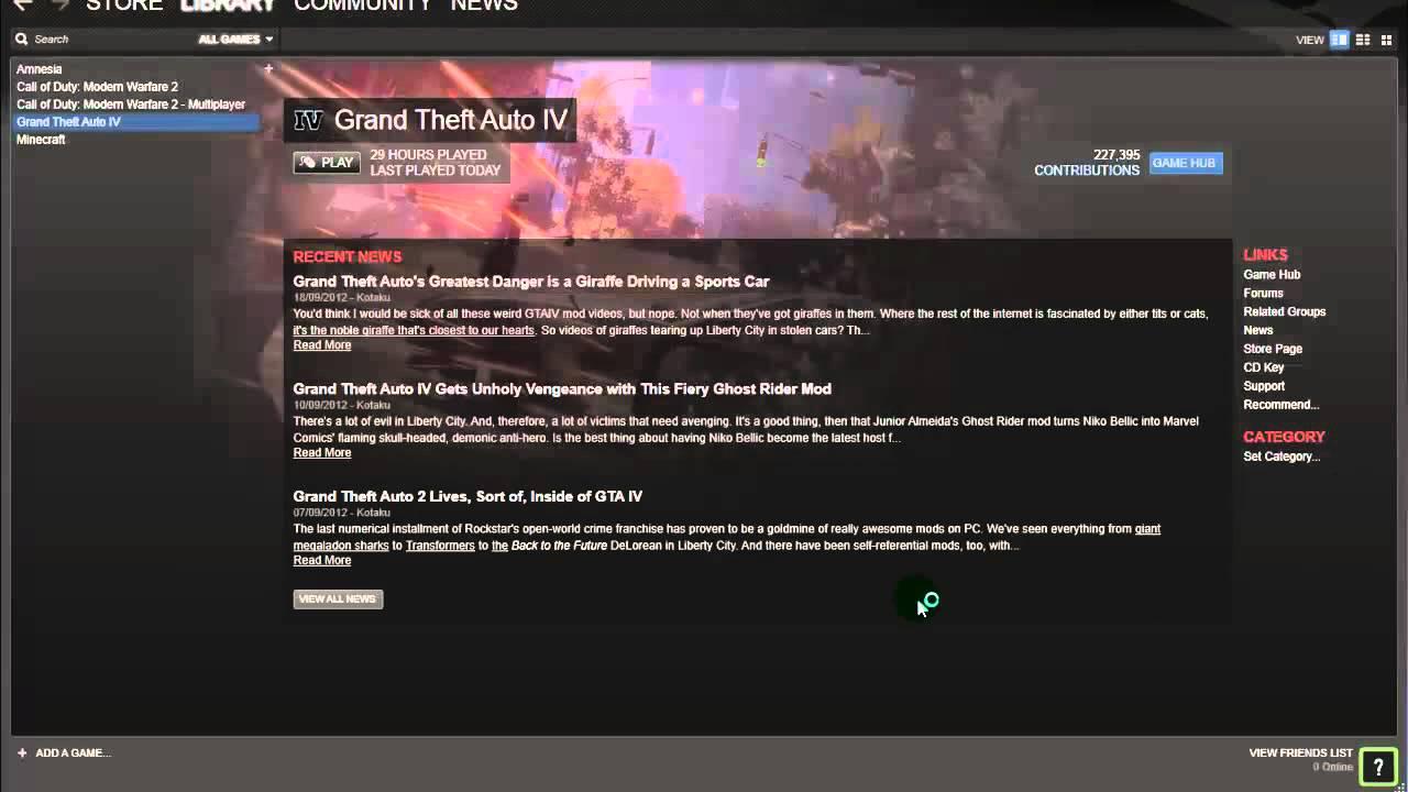GTA IV Steam wont open Fix
