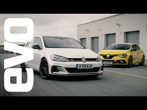 Volkswagen Golf GTI TCR vs Renault Megane RS Trophy   evo DEADLY RIVALS