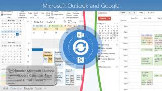Sync2 - Sync Microsoft Outlook between PC's, mobile devices, Google - without a server