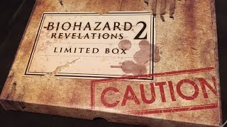 BIOHAZARD /RESIDENT EVIL: REVELATIONS 2 [E-CAPCOM LIMITED EDITION] UNBOXING