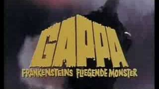 Gappa the Triphibian Monster German Trailer