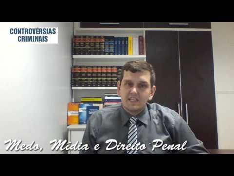 Видео A influencia da midia e do medo no direito penal