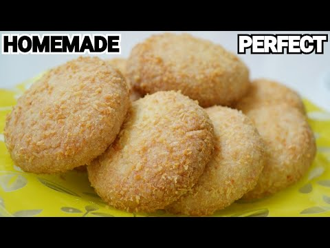 COCONUT COOKIES / Original Bakery Biscuits at Home by (YES I CAN COOK)