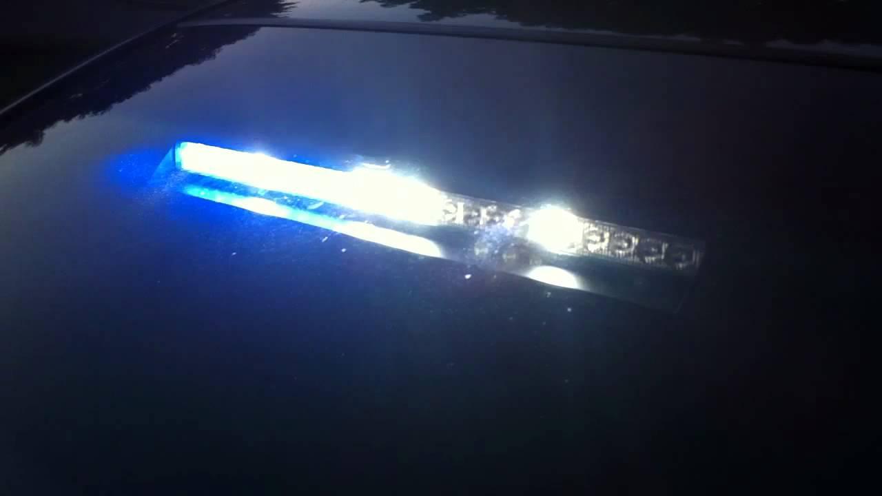Honda Accord Coupe Firefighter Pov Blue Lights Youtube