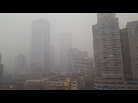 Smog in Chengdu - 成都市 - ☯China 2016☯