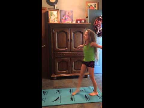STRETCHING VIDEO STRETCH KICKS CHEER DANCE SPORTS KICKS GYM YOGA KIDS