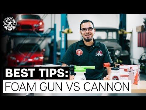 What's Better, A Foam Cannon or Foam Gun? - Chemical Guys