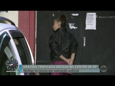 Mulher grávida é presa por tráfico de drogas e passa mal na delegacia | Primeiro Impacto (18/04/18)