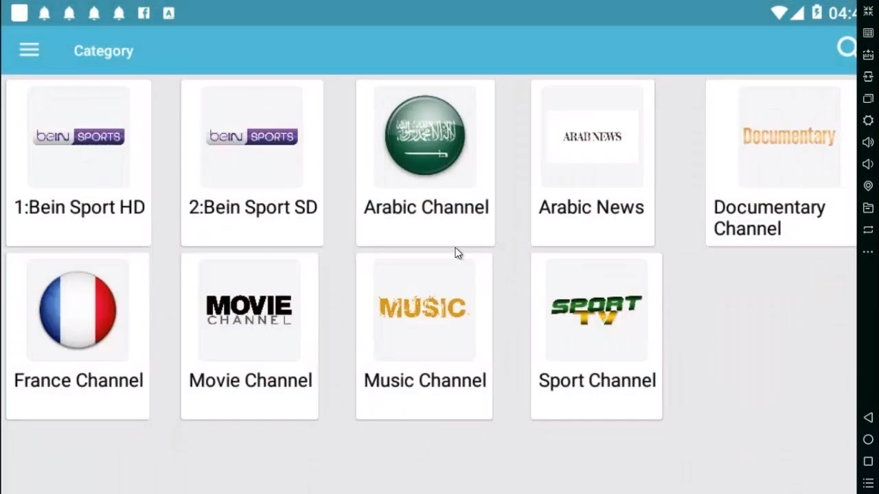 free app Tv android 2019 live sport and movies iptv - YouTube