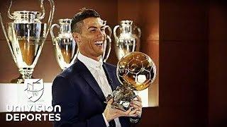 Cristiano Ronaldo gana su quinto Balón de Oro y empata a Lionel Messi