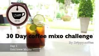 Gambar cover 30 day coffee mixo  Day1  Cold Brew Mojito