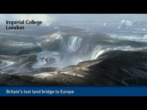 Britain's lost land bridge to Europe