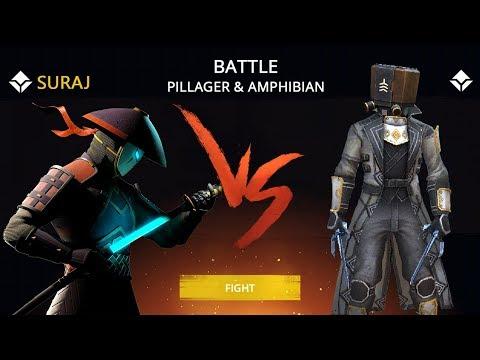 Shadow Fight 3 Official Battle PILLAGER & AMPHIBIAN