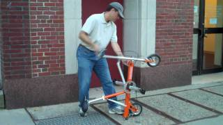 Quick change on the go CarryMe compact folding bike. Thumbnail