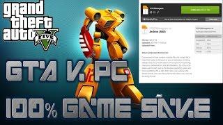 GTA V PC Game Save 100% Download