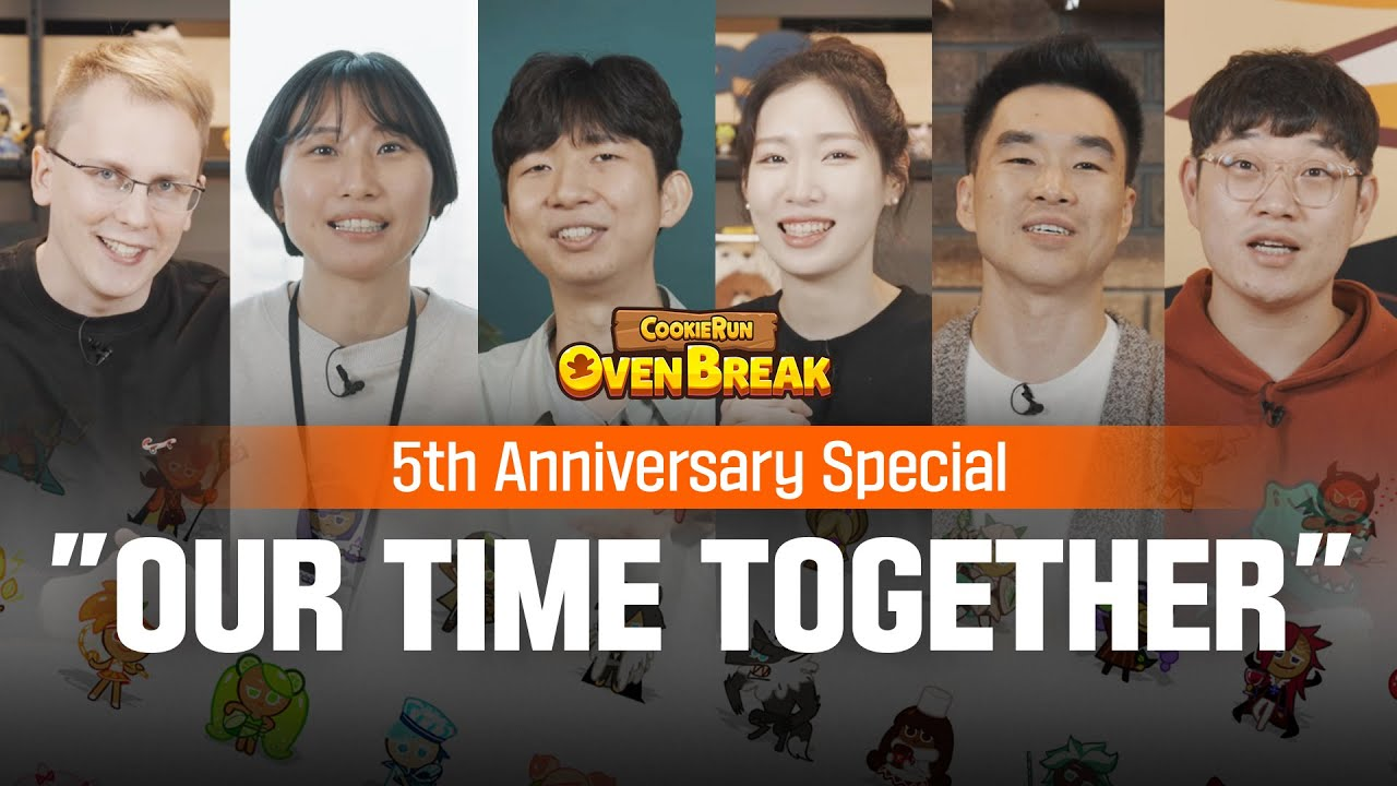 Cookie Run: OvenBreak 5th Anniversary Special - Our Time Together