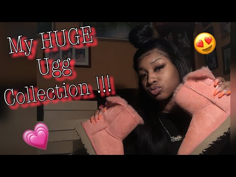 MY HUGE UGG COLLECTION !!!