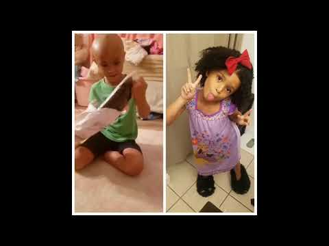 Andi and Kenny  - Daily Do Good: Mom Makes Free Wigs For Kids Living With Hair Loss