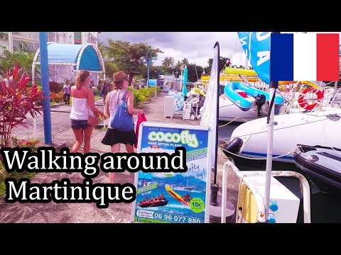Martinique 2017 - French Caribbean Island (4K) - Walking in Creole Village