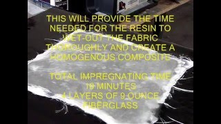 BASIC EPOXY FIBERGLASS LAY UP TECHNIQUE