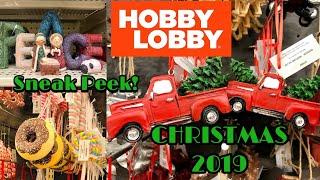 Hobby Lobby Christmas 2019 Sneak Peek