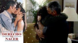 El derecho de nacer - C-38: ¡María Elena revive su amor con Aldo! | Televisa