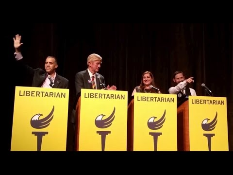 VP Debate at the Libertarian National Convention in Orlando May 27 2016