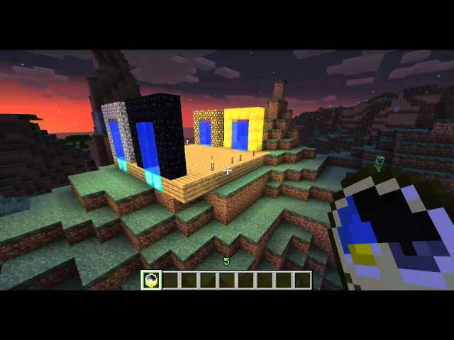 Best Minecraft 1.7.5 Portal Plugin Travel Video