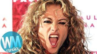 ¡Top 10 Razones por las que Paulina Rubio es ODIADA!