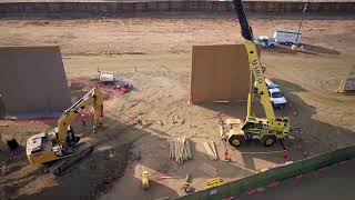 Border Wall Prototypes Take Shape at Otay Mesa Port of Entry