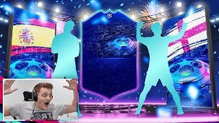 10 WALKOUTS IN 1 FIFA 19 PACK OPENING!!! 4 UCL LIVE CARDS PACKED!!!