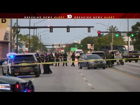 Murder suspect shot dead after traffic stop, police say