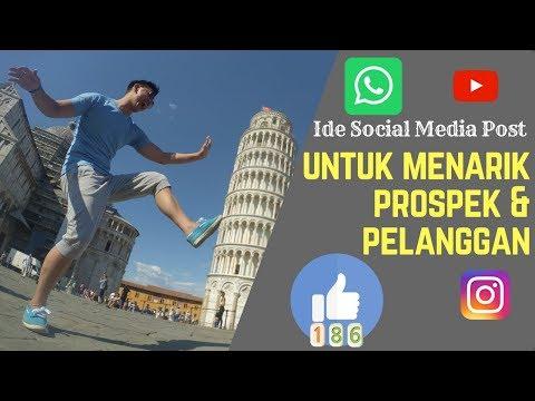 14 Ide Post Menarik Prospek dan Pelanggan Menggunakan Social Media Marketing