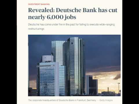 The rumor you might want to heed - is Deutsche Bank bankrupt?