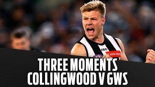 Collingwood v GWS | Three moments that mattered | Semi Final, 2018 | AFL