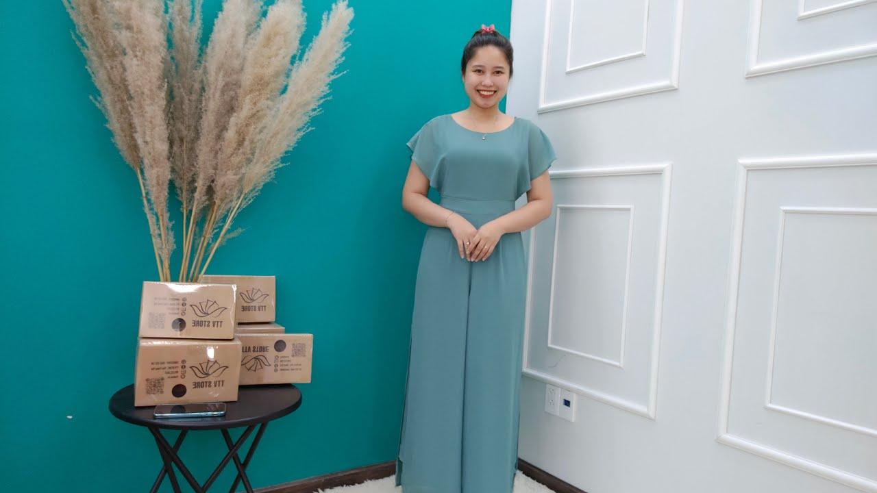 [ LIVE 105 ] – Đầm Trung Niên Đẹp GIẢM GIÁ SỐC – Thời Trang Trung Niên 2021